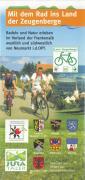 Faltblatt Radkarte Land der Zeugenberge Titelseite